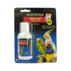 8 in 1 Ecotrition Vita-Sol - High Potency Multi-Vitamin Bird Supplement - 59ml (2oz)