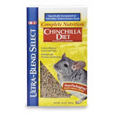8 in 1 Ultra-Blend Diet for Chinchillas - 907g (32oz)