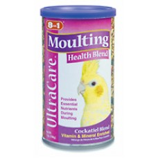 8 in 1 Moulting Health Blend for Cockatiels - 198g (7oz)