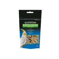 8 in 1 Ecotrition Grains and Greens Variety Blend for Cockatiels - 184g (6.5oz)