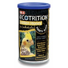 8 in 1 Ecotrition Honey Variety Blend for Cockatiels - 213g (7.5oz)