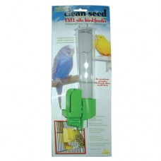 JW Pet Clean Seed Silo - Bird Feeder - Tall (Assorted Colours)