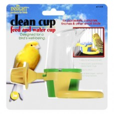 JW Pet Clean Cup Feed and Water Cup for Birds - Small (Assorted Colours)