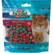 KAYTEE Forti-Diet Pro Health Nutra-Puffs - Small Animal - Wild Berry [Discontinued] 43g (1.5oz)