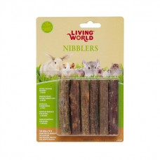 Living World Nibblers Wood Chews - Kiwi Sticks