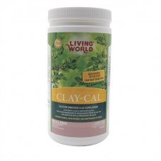 Living World Clay-Cal Calcium Enriched Clay Supplement for Birds - 1kg (2.2lb)