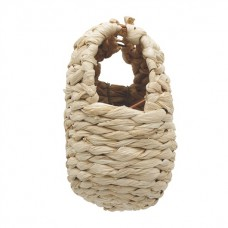 Living World Maize Peel Bird Nest for Finches - Large - 10.5cm x 13cm x 15cm (4.1in x 5.1in x 5.9in)