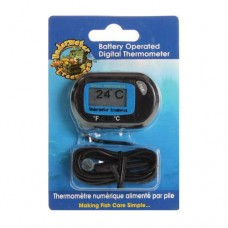 Underwater Treasures Aquarium Thermometer - Digital - Battery Operated