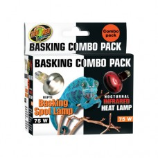 Zoo Med Basking/Heating Lamp Combo Pack - 75W