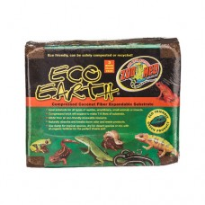 Zoo Med Eco Earth Coconut Fiber Substrate - 3 Compressed Brick Value Pack